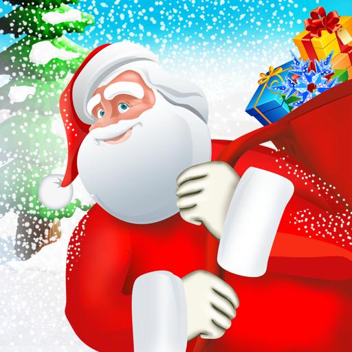fliegenden Weihnachtsmann 2 - Weihnachtsrausch Kinder Lieferung Geschenke unter den Bäumen - Gratis-Edition