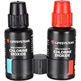 Lifesystems Unisex's Chlorine Dioxide Water Purification Drops, Black, 2 x 30ml