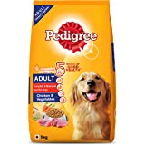 Pedigree Adult Dry Dog Food, Chicken & Vegetables, 11Kg Pack