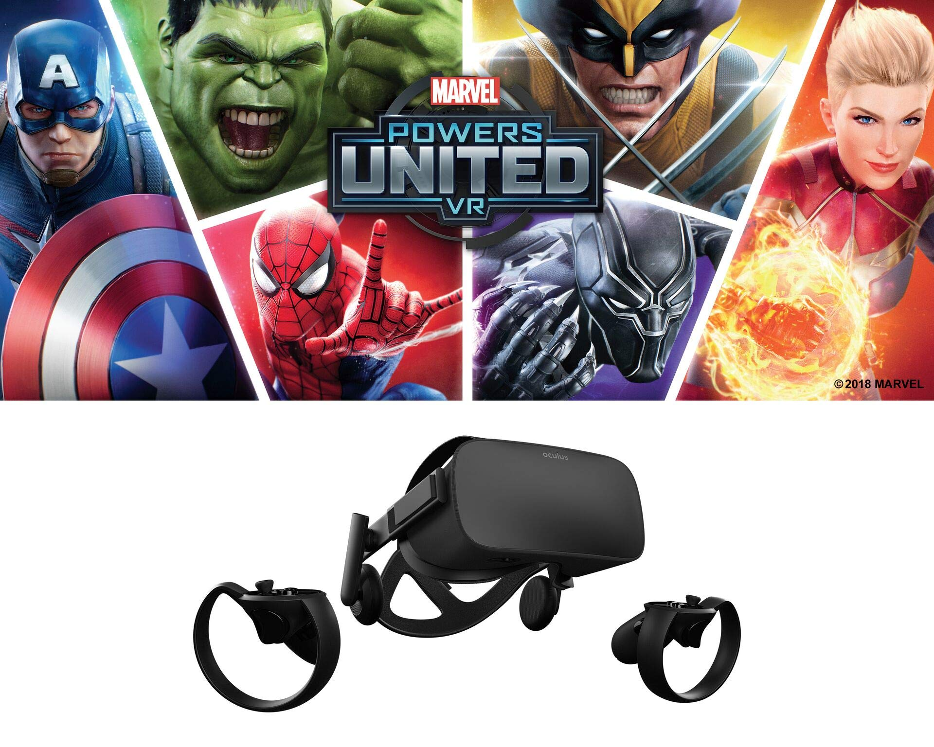 Oculus Rift + Touch bundle MARVEL LIMITED