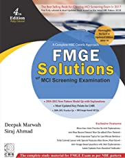 FMGE Solutions-MCI Screening Examination (A Complete NBE Centric Approach) Paperback – 2018
