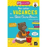 Cahier de vacances 2020 Petit Ours Brun PS vers MS 3/4 ans