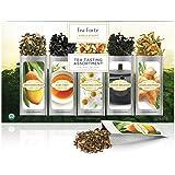 Tea Forté SINGLE STEEPS Campionario classico di tè in foglie, 15 varietà in bustine monoporzione – Tè verde, tè alle erbe, tè