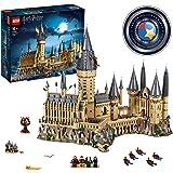 Lego Harry Potter Hogwarts Schloss Set Mit 4 Bausätzen Die Große Halle Peitschende Weide Astronomieturm Uhrenturm Amazon De Spielzeug