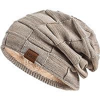 REDESS Beanie Hat per Uomo e Donna Cappelli Invernali Caldi Cappuccio con Teschio Spesso Lavorato a Maglia