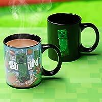 Paladone Minecraft Creeper Heat Change Mug, Multicolor, PP7975MCF