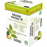 Infusion Minceur 10 • Brûleur • Draineur • 10 plantes & fruits • Extrait d'ananas bio • Concentrés Végétaux Solubles (CVS) •