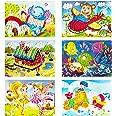 YUESEN Mosaique Autocollante Enfant Kit Artisanal de mosaïques collantes pour Enfants, Images séparées d'autocollant de mosaï