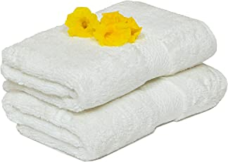 Casa Lino - Affluence Premium Cotton 650 GSM Set of 2 Pcs Hand Towels 40 X 60cm.