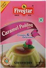 Caramel Pudding Strawberry 100g Box, Pack of 4