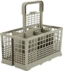 Besteckkorb Universal passend für viele Spülmaschinen 60cm Breite - Maße: 240 x 136mm - verstärkter Kunststoff