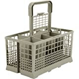 Panier à couverts universel convient pour de nombreux lave-vaisselles 60cm de largeur-Dimensions:240x 136mm-plastique