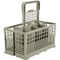 Panier à couverts universel convient pour de nombreux lave-vaisselles 60cm de largeur-Dimensions:240x 136mm-plastique renforcé.
