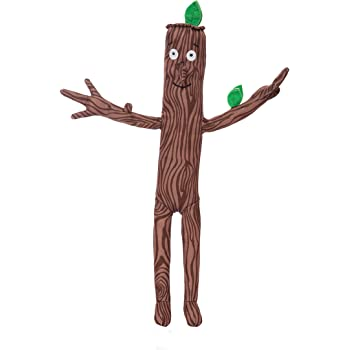 The Gruffalo 60573 Stick Man Plush Toy, Brown