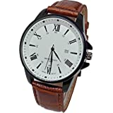 Casual Watch For Men Analog Leather -