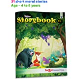 Blossom Moral Story Book for Kids 4 Years to 8 Years Old in English | 31 Fairy Tale Stories with Colourful Pictures | Best Be