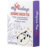 My Feelings, tè verde al gelsomino in polvere, 20 bustine da 12 g