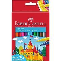 Faber-Castell 554201 - Pennarello Castle, confezione da 12