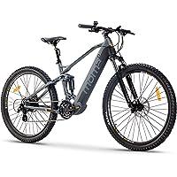 """Moma Bikes SUSP. M-L VTT Electrique E-MTB 27,5"""" Full SUSP.M-L Freins Disque Hydraulique avec Batterie Intégrée Adulte Unisexe"""