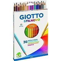Giotto Stilnovo Multi 36pièce(s) crayon de couleur - Crayons de couleur (36 pièce(s), Multi, Multicolore)