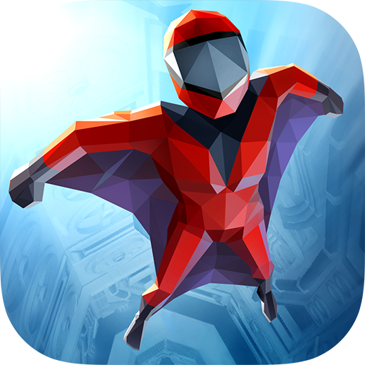 Wingsuit Man 3D - Tube Flight