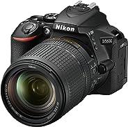 Nikon D5600 + AF-S DX NIKKOR 18-140 mm VR, Fotocamera Reflex Digitale, 24.2 Megapixel, LCD Touchscreen 3