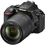 "Nikon D5600 - Cámara réflex de 24.2 MP (pantalla táctil de 3"", Full HD) negro - kit con objetivo AF-S DX 18 - 140 mm VR, vers"