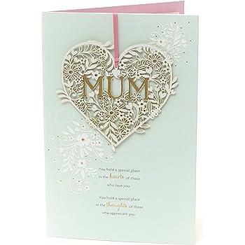 Hallmark Birthday Card For Mum Love Today And Always Medium