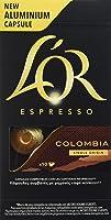 L'Or Espresso Café Colombia Intensidad 8 - 50 cápsulas de aluminio compatibles con máquinas Nespresso (R)* (5 Paquetes...