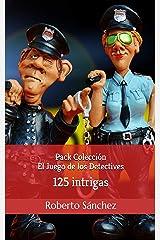 Pack Colección El Juego de los Detectives: 4 libros con 125 intrigas Versión Kindle
