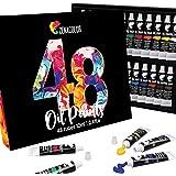 48 Buizen van Zenacolor olieverf - Pakket van 48 x 12 ml - Professionele kwaliteit kunstenaarsverf set - Unieke kunst set van