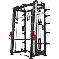 Gorilla Sports Smith Machine Machine avec Power Rack, Multi Station et Presse.
