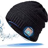 HANPURE Regali Natale Donna Cappello Bluetooth - Bluetooth V5.0 Beanie, Musicale Invernale Running Hat con Altoparlanti…