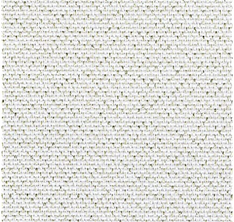 50 x 55cm Great for Cross Stitch Zweigart Gold Glitter 14 count Lurex Aida