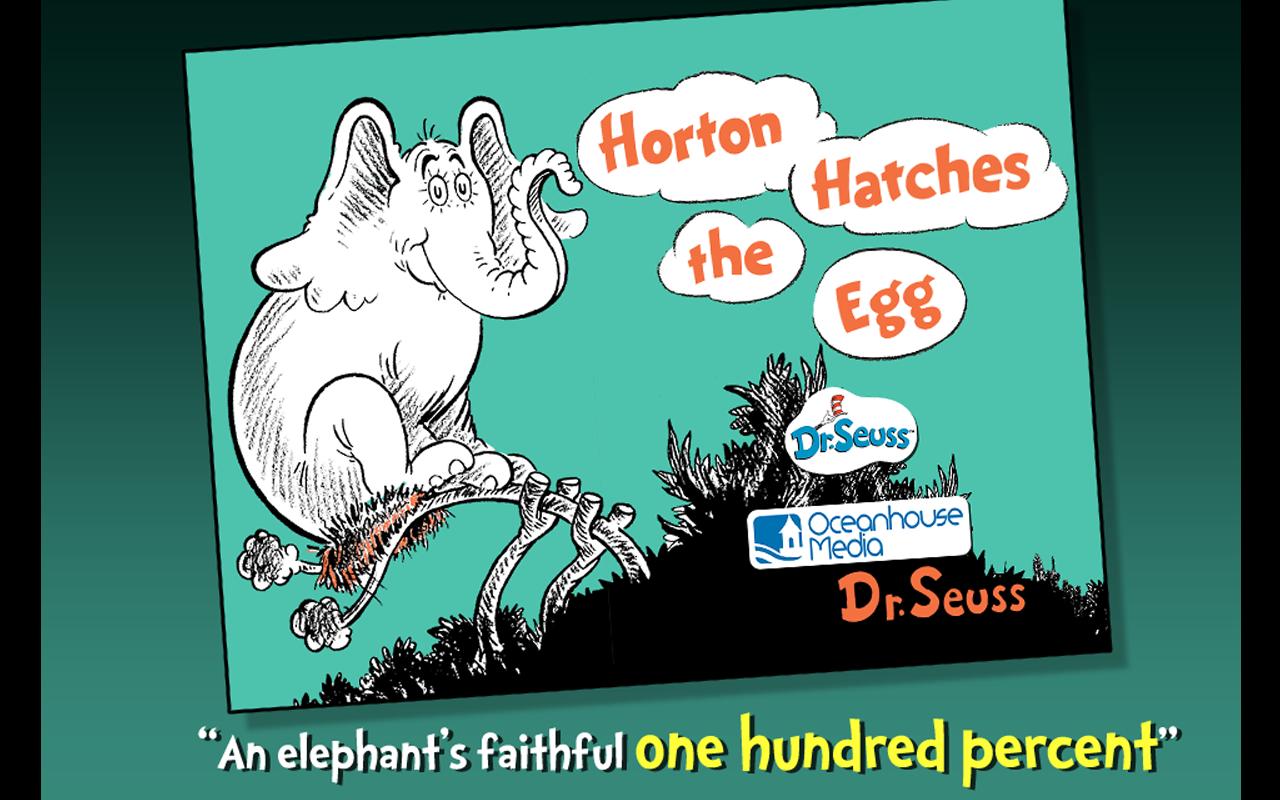 Horton Hatches The Egg Vhs