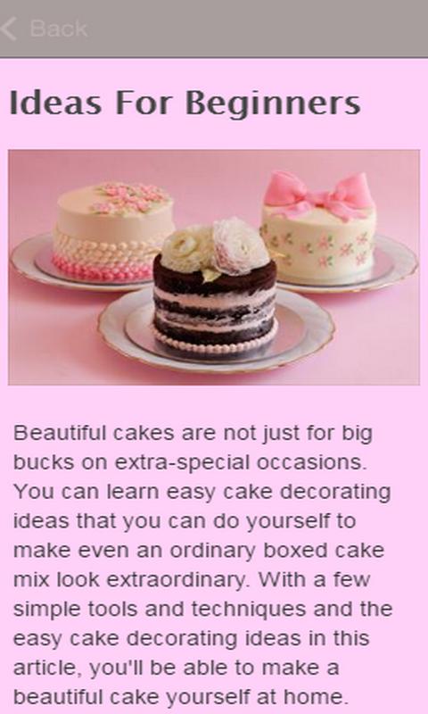 Cake Decorating Ideas Amazon De Apps Fur Android