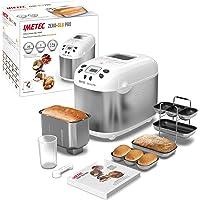 Imetec Zero-Glu PRO Machine à pain et à gâteaux, avec 20 programmes automatiques / 11 sans gluten, 7 accessoires, 3…
