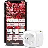 Eve Energy - Slimme stekker en energiemeter met ingebouwde schema's, schakel een verbonden lamp of apparaat in of uit, stembe