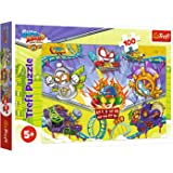 Rivals of Kaboom Puzzle Superzings 100 Piezas Super Zings para niños 41x27,8 cm, Puzzle Superthings