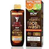WOW Skin Science Brightening Vitamin C Foaming Face Wash Refill Pack - For Skin Brightening and Smooth Skin - For Extended Us