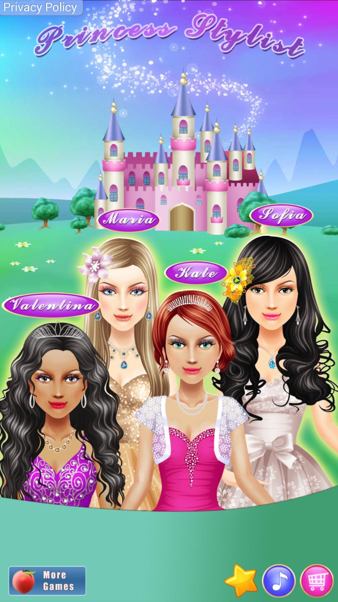Princess Dress Up And Makeup Girls Who Covet Fashion Princess Salon And Dress Up Makeover