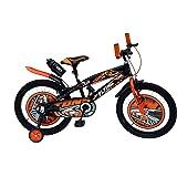 RAW BICYCLES Children 20T Sports BMX Road Bike with Training Wheels
