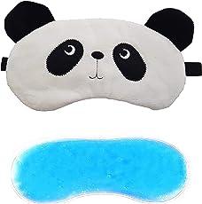 Jenna™ Fur Panda Ice Gel SleepingEye Mask for Insomnia, Meditation, Puffy Eyes and Dark Circles