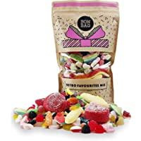 Large 1l Classic Retro Sweets Pick'n'Mix Share Bag - All Time Favourite Candy Gift Bag for Birthdays and Other Occasions…