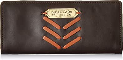 Isle Locada by Hidesign Women's Wallet (Brown)