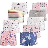 Kidear Kinderserie Baby-Unterw/äschen Baumwollene Boyshort H/öschen f/ür Kleine M/ädchen Packung mit 6 St/ücken