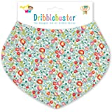 Handmade Liberty London designer Eloise baby dribble bib bandana shape baby gift suitable baby shower or new baby