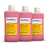 SterloMax 80% Ethanol-based Hand Rub Sanitizer and Disinfectant 500 ml -Pack of 3