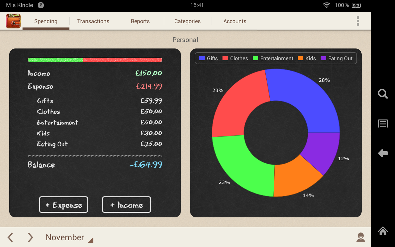 spending tracker amazon co uk appstore for android
