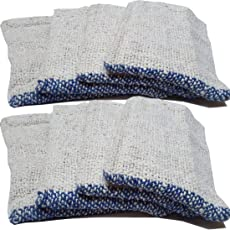UVA Home and Kitchen Floor Wet and Dry Cleaning Cloth (Medium Pocha) Set of 8 pcs (18 x 18 cm)